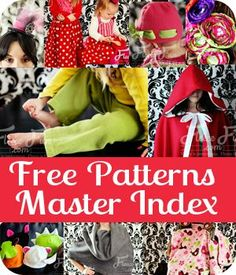 I can't believe how many FREE patterns she has on her site!