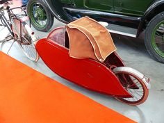 Vintage bicycle trailer by hugojcardoso, via Flickr