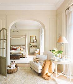 Un dormitorio para soñar despierta · ElMueble.com · Dormitorios
