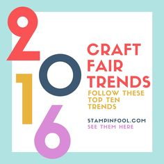 craft fair trends 2016 crafts to sellselling