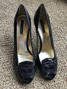 9b68d575d491 Claudia Ciuti Made In Italy Black Open Toed Wing Tipped Heels Size 10   fashion  clothing  shoes  accessories  womensshoes  heels (ebay link)