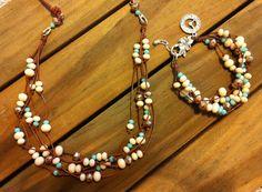 bead bracelet & necklace