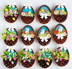 Easter cookies by Leapula, via Flickr