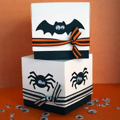 Tanya's Creative Space: Halloween Treat boxes made with my Silhouette