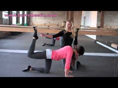 Poke Series - Shape you butt & work those GLUTES with Barre Bee Fit!  #fitness