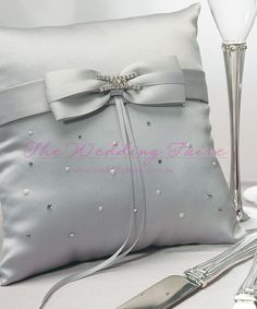 Platinum By Design Ring Pillow - The Wedding Faire