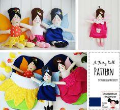 Snugglebug University: A New Pattern... Fairies and More Fairies!