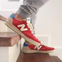 New Balance in Red