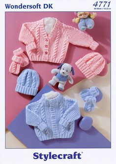 Happy baby sweater pants redheart pattern baby boy beautiful pattern and gorgeous knitting yarn ill knit this when our new grandson is a little older an easter gift for mo cardigan hat mittens in negle Gallery