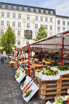 European Farmers Market. Copenhagen. Allie Colina Photography