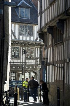 Streets of Tewkesbury in Gloucestershire, England  <3