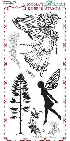 February Fairy DL Stamp set