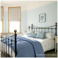 cama de ferro, quarto
