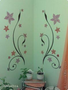 Интерьер Рисование и живопись рисунки на стене Краска фото 1