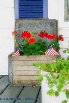 Great for fourth of july decor!