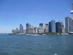 That's a view you never forget. New York City, Lower Manhattan