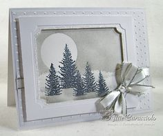 Silver Winter by kittie747 - Cards and Paper Crafts at Splitcoaststampers