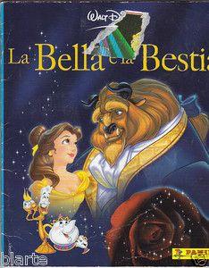 ...Andavamo matte per gli albi della Panini come quello de La Bella e la Bestia (uscito nel '91) che aveva anche le figurine scontornate e trasparenti. Così belle che, anche quando avevamo dei doppioni, non si scambiavano, ma si usavano per i quaderni...