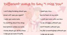 """Más módon mondani: """"I Miss You"""" angolul"""