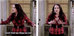 Two Broke Girls GIFset