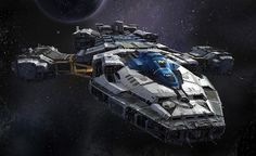 Allied Shipping Agency Armored Tractor 17 (By Dorje Bellbrook) #spaceship