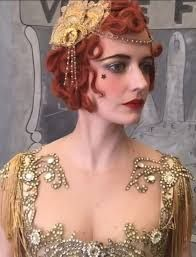 Eva Green in Dumbo, costumed by Colleen Atwood Circus Makeup, Carnival Makeup, Eva Movie, Dumbo Costume, Vintage Circus Costume, 20s Hair, Colleen Atwood, 30s Fashion, Eva Green