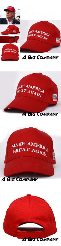 donald trump: Make America Great Again ~ Donald Trump 2016~ Republican ~ Win Hat Cap Red -> BUY IT NOW ONLY: $7.29 on eBay!