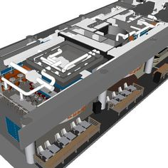 Pioneer in the HVAC BIM modeling industry with more than 1000 successful project completion. Bim Model, 3d