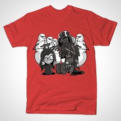 You dont know the power. Calvin and Hobbes / Star Wars. Calvin's face is priceless. https://www.teepublic.com/show/21181-you-dont-know-the-power