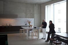 David Chipperfield at home in Berlin | chair CATILINA | Azucena