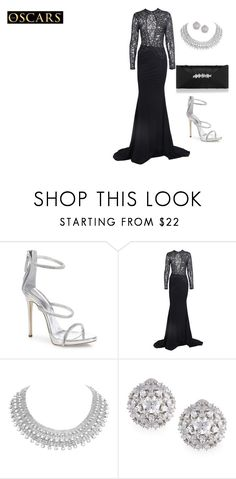 """Untitled #1808"" by nadia-n-pow on Polyvore featuring Giuseppe Zanotti, Fallon, Accessorize and RedCarpet"