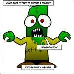 Kids Zombie Joke for Halloween