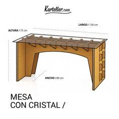 Mesa con Cristal