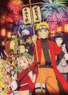I know that there are a lot of people who hate Naruto, but I can't help but to love it. (*^_^*)