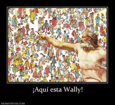 Aqui está Wally...