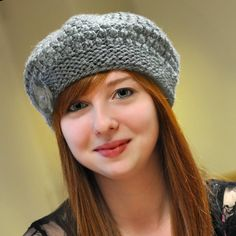 Name: 'Knitting : Seamless Alpaca Beret (Size Teen/Adult) Knitted Beret, Knitted Slippers, Knit Mittens, Loom Knitting, Knitting Patterns, Crochet Patterns, Crochet Adult Hat, Crochet Yarn, Knit Slippers Free Pattern