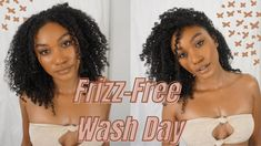 Photo Credit: yvannabrooke 3c Curly Hair, 4a Hair, Curly Hair Routine, Curly Hair Styles, Natural Hair Types, Natural Hair Tutorials, Natural Hair Journey, Natural Styles, Low Porosity Hair Products