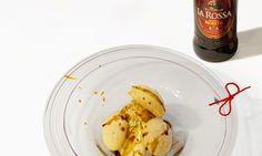 Meringa di birra con gelato al tartufo, ricetta di Stefano Cipollini, sous-chef del ristorante La Montecchia di Selvazzano Dentro