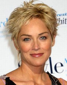pixie haircut for older women - Google Search