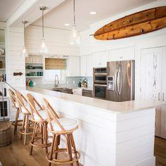 Alys Beach - beach style - kitchen - Ashley Gilbreath Interior Design