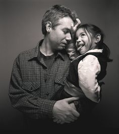 Adam Yauch and his daughter Tenzin