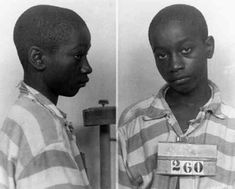 On June 16, 1944, the United States set a record when they executed George Stinney (14 years old), the youngest person to be legally executed in the US during the twentieth century. George was convicted of the murder of two girls named Betty June Binnicker (11) and Mary Emma Thames (8) who were both found in a muddy hole. The girls suffered severe fractures to their skulls, inflicted by a railroad spike. George confessed to the crime and was tried and sentenced to death in the electric chair.