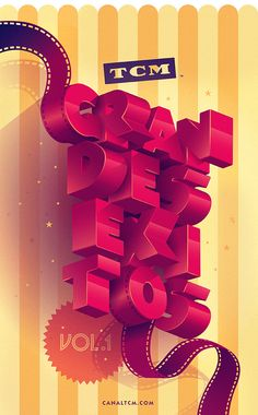 TCM - Grandes éxitos on Behance