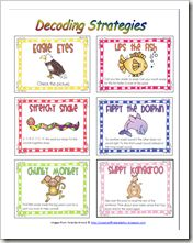 I use these decoding strategy posters in my room and I absolutely love them!