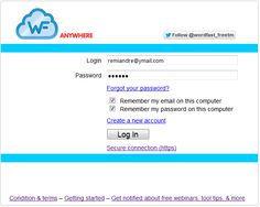 Wordfast Anywhere My Password, Forgot Your Password, My Email, Tao, Get Started, Software, Tutorials, Tools, Wizards
