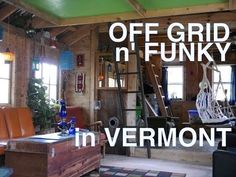22 year old (and 18 year old) built this off-grid cabin/tiny house in Vermont - YouTube