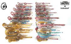 Blown Away Crystal Nebula Dunny Series by Josh Mayhem