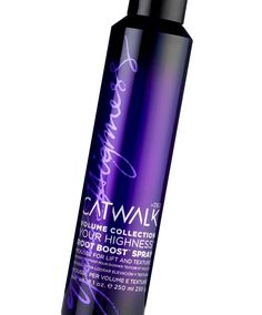 "TIGI Catwalk Your Highness Root Boost Spray ... To ""really put some boost in your roots"" our readers say you should ""add this to your hair care arsenal."" One reviewer says, ""I thought it would take a miracle to hold my hair at the roots, but now I know that all I need is a can of this spray"" for volume that lasts all day. Others agree, ""I've tried many root boost formulas and this one is by far the best. It really pumps up the volume for a lift that lasts for days."""