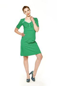 Tante Betsy Dress Lola Hearts Green