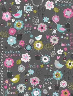 Super Ideas For Screen Savers Wallpapers Vintage Flower Backgrounds, Wallpaper Backgrounds, Cellphone Wallpaper, Iphone Wallpaper, Doodle Play, Textures Patterns, Print Patterns, Scrapbook Paper, Scrapbooking